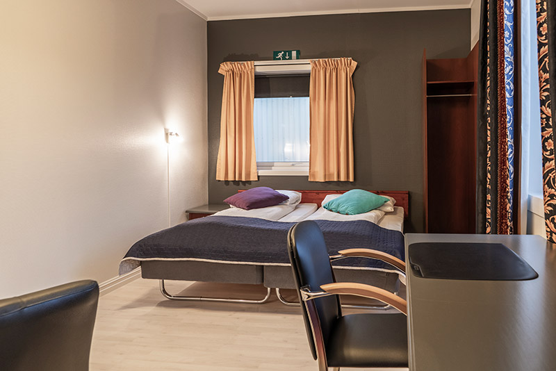 Budget double room - Melbu Hotell