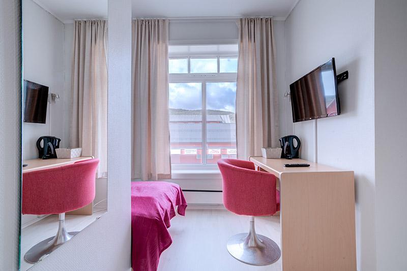 Budget single room - Melbu Hotell