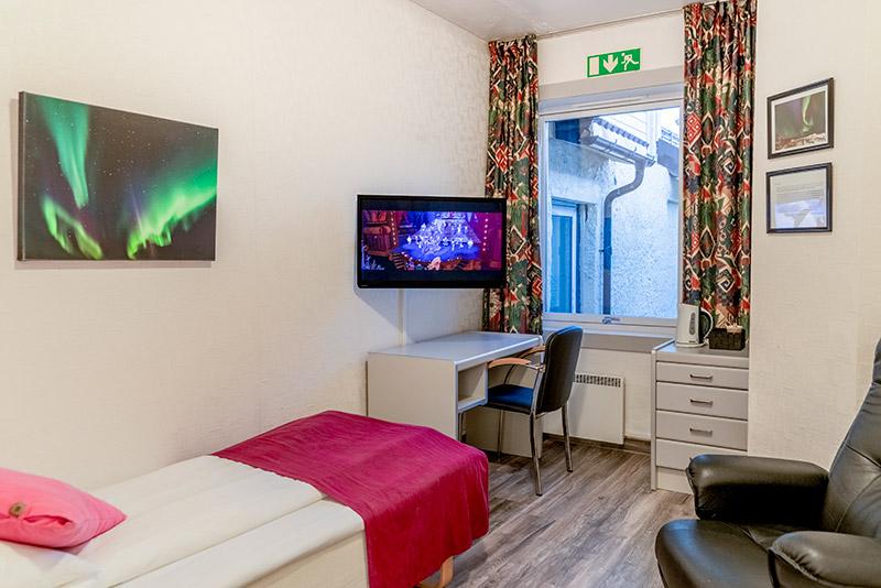 Standard single room - Melbu Hotell