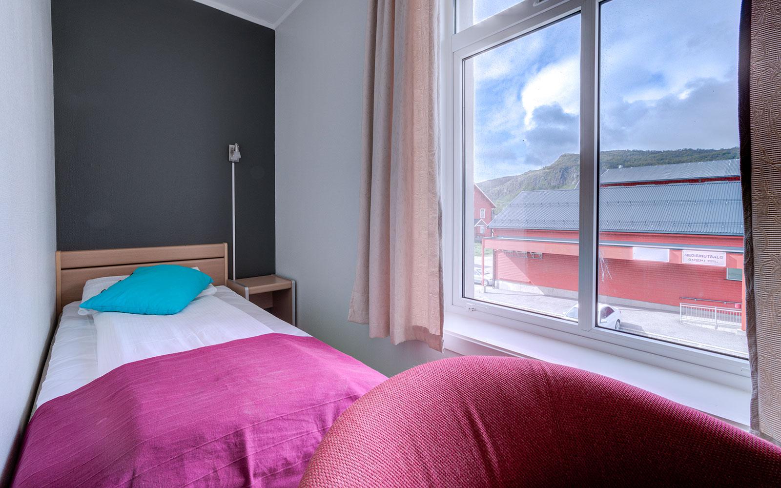 Melbu Hotell enkeltrom budget med utsikt