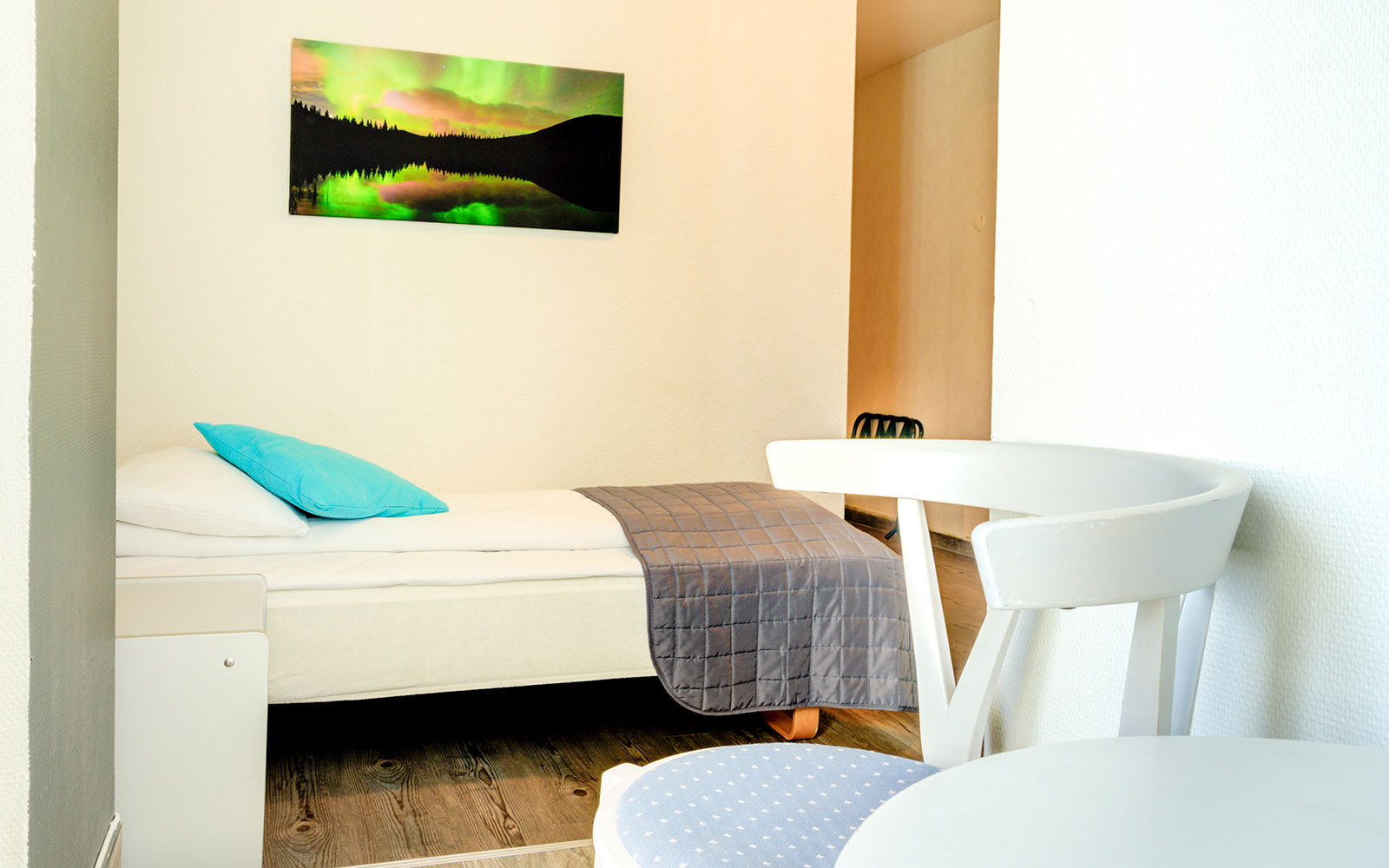 Melbu Hotell sittekrok i standard enkeltrom